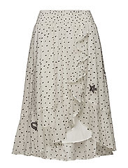 devotion skirt - OFFWHITE