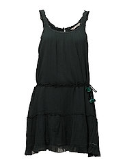 love crush dress - DARK TEAL