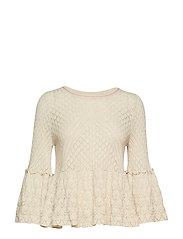 leia sweater - LIGHT PORCELAIN