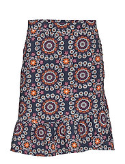 women empire skirt - DARK BLUE