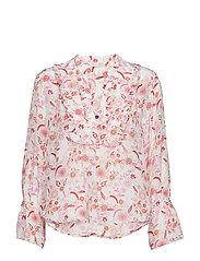 blossom blouse - LIGHT CHALK MULTI