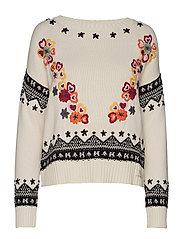 my dear sweater - CHALK