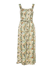 molly-hooked jumpsuit - LICHEN GREEN