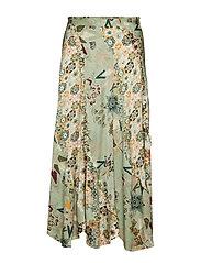 molly-hooked skirt - LICHEN GREEN