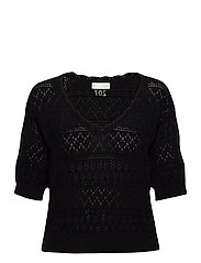 Lucky Charm Sweater - BLACK