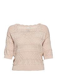 Lucky Charm Sweater - LIGHT PORCELAIN