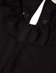 ODD MOLLY - Frill Up Jumpsuit - jumpsuits - almost black - 2