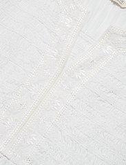 ODD MOLLY - Expressive Move Dress - hverdagskjoler - bright white - 2