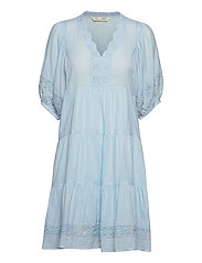 Laura Dress - BLUE GLOW