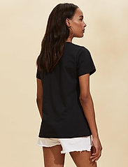 ODD MOLLY - Juliette S/S Top - t-shirts - almost black - 3
