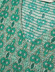 ODD MOLLY - Jovena Dress - sommerkjoler - sparkling green - 4