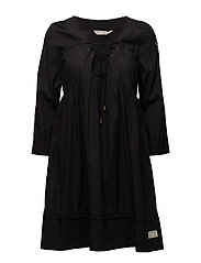 medley dress - ALMOST BLACK