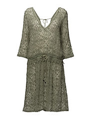 recreation dress - SOFT GREEN