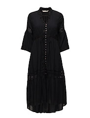 sway dress - ALMOST BLACK