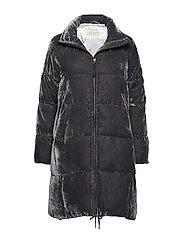 phenomenal velvet jacket - ASPHALT