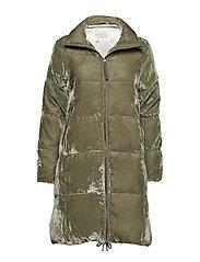 phenomenal velvet jacket - MISTY GREEN