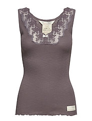 rib-eye tank - STORMY GREY