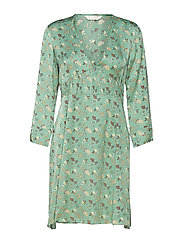 cosmic moments dress - BOTTLE GREEN