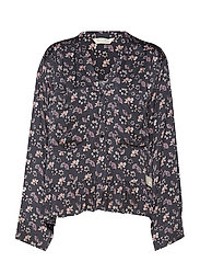 cosmic moments blouse - ALMOST BLACK