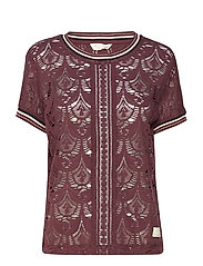 inspiration tshirt - BURGUNDY