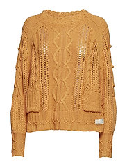 good fellow sweater - APRICOT TAN