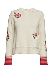 arctic winds sweater - CHALK