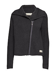 suit me soft jacket - ALMOST BLACK