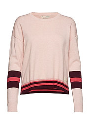 hoower sweater - SOFT ROSE