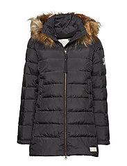 winterland jacket - ALMOST BLACK