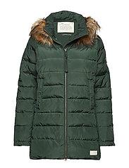 winterland jacket - EMERALD GREEN