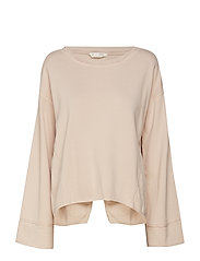 back swag sweater - PINK SAND