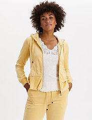 ODD MOLLY - Hygge Jacket - bluzy z kapturem - golden biscotti - 0