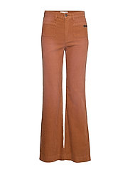 Living All The Way Pant - GOLDEN BROWN