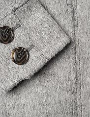 ODD MOLLY - Lengthy Beaut Coat - manteaux en laine - light grey melange - 5