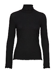 Decisionmaker L/S Top - ALMOST BLACK