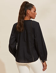 ODD MOLLY - Rachelle Blouse - long sleeved blouses - almost black - 3