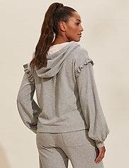 ODD MOLLY - Paulina Hood Sweater - pulls à capuche - light grey melange - 3