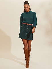 ODD MOLLY - Maya Skirt - træningsnederdele - midnight green - 0