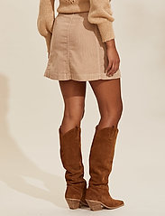 ODD MOLLY - Maya Skirt - korte nederdele - soft taupe - 3