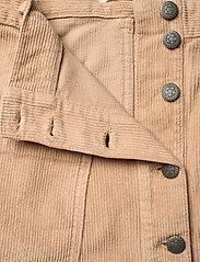 ODD MOLLY - Maya Skirt - korte nederdele - soft taupe - 5