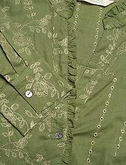 ODD MOLLY - Vivian Shirt - langærmede bluser - dark olive - 4