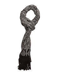 fling scarf - ALMOST BLACK