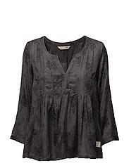 octave l/s blouse - GREY