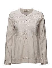 operetta blouse - CLOUDY SKY