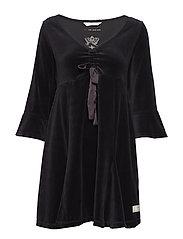 soft crush dress - ALMOST BLACK