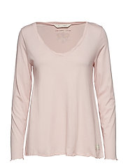 trashin´  l/s top - SHEER PINK