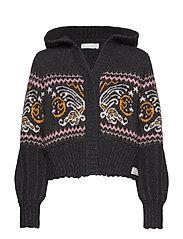 arctic wings hood sweater - MULTI