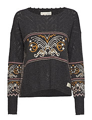 arctic wings sweater - MULTI