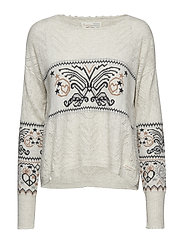 arctic wings sweater - POWDER