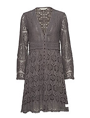 nordic alps dress - SHADOW GREY